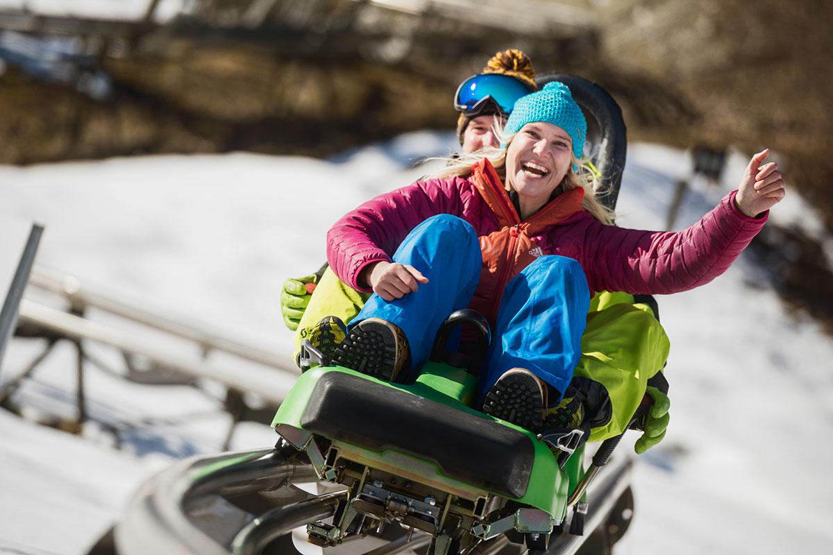 Actionsport im Winterurlaub in Flachau, Ski amadé