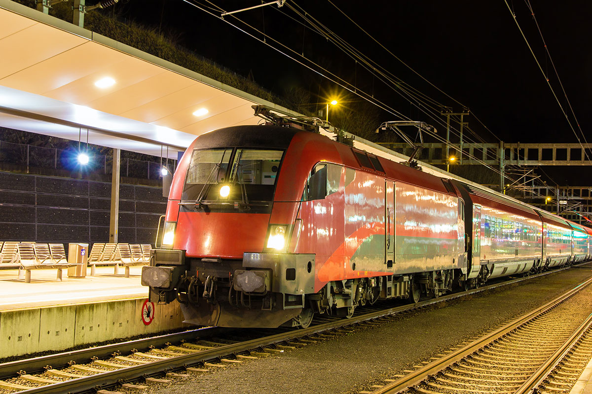 Anreise mit der Bahn, Flachau