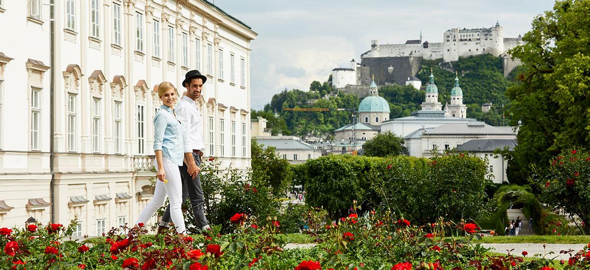 Altstadt Salzburg - Ausflugsziel im Salzburger Land