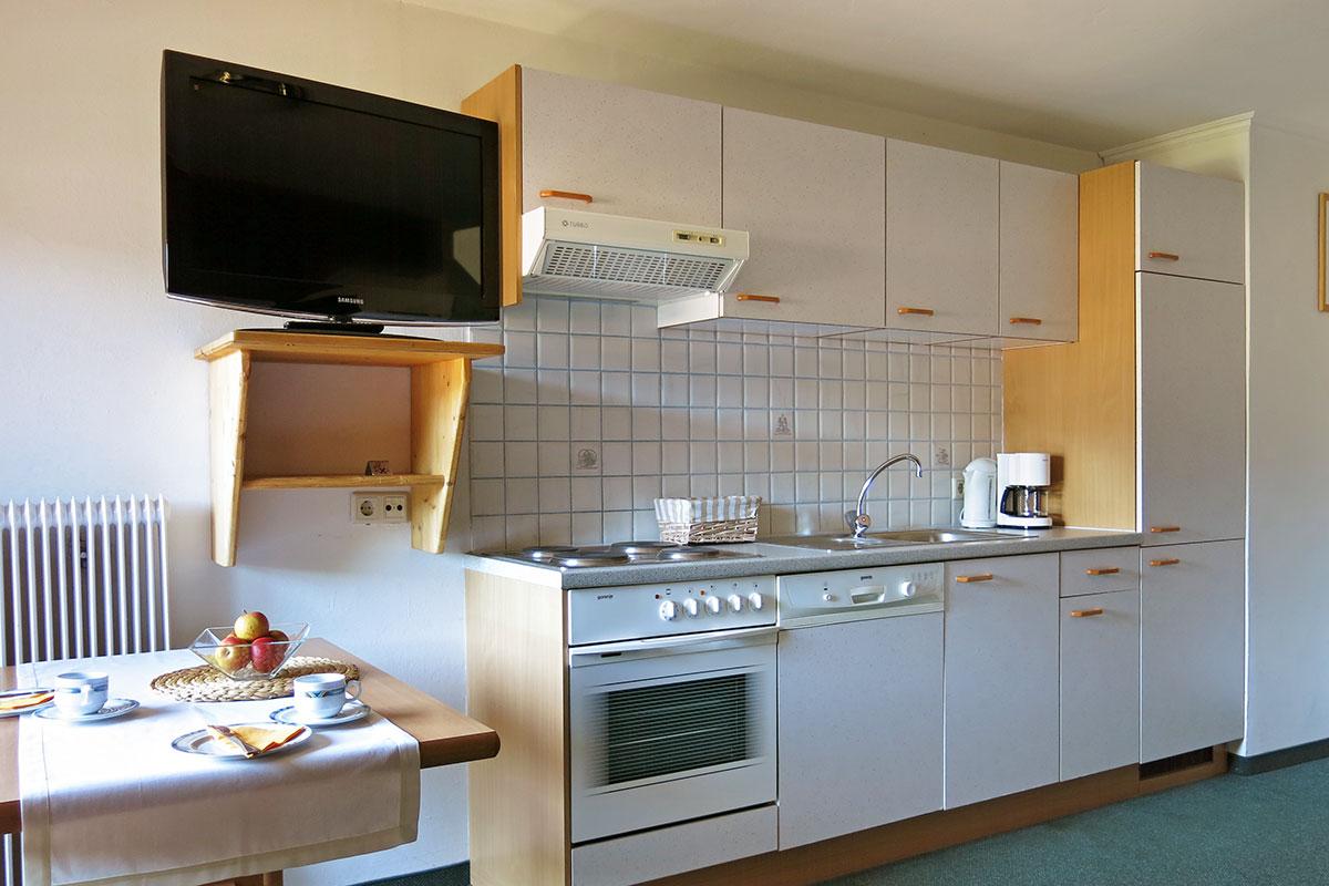 Wohnküche - Ferienwohnung in Flachau für 1 - 3 Personen