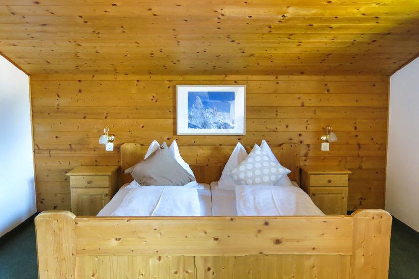 Schlafzimmer - Ferienwohnung in Flachau für 1 - 3 Personen