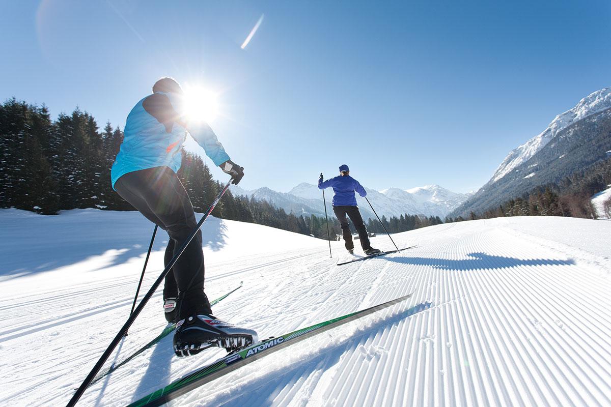 Langlaufen im Winterurlaub im Salzburger Land