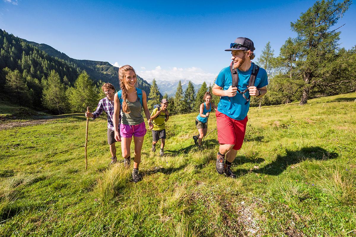 Wandern & Bergsteigen im Sommerurlaub in Flachau, Salzburg